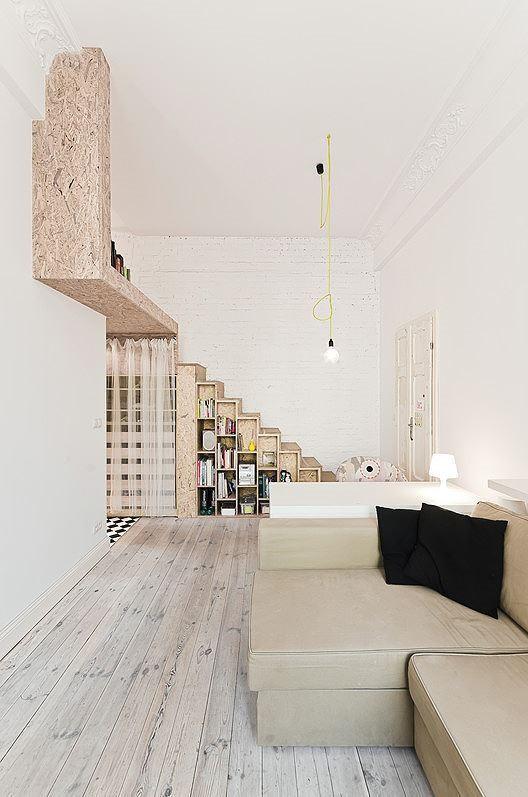Nhà nhỏ bỗng rộng thênh thang nhờ thiết kế thông minh - Ảnh 7.