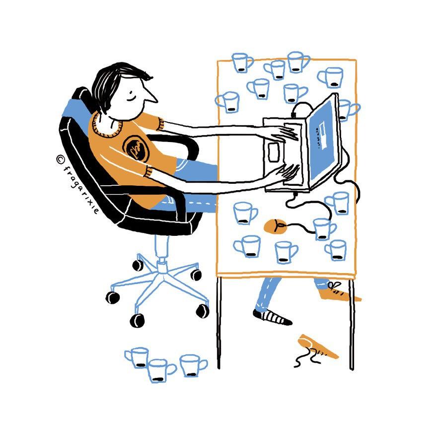Có công nghệ thì thích thật đấy nhưng xem thử nó đã biến bạn thành những người kỳ cục như thế nào? - ảnh 10