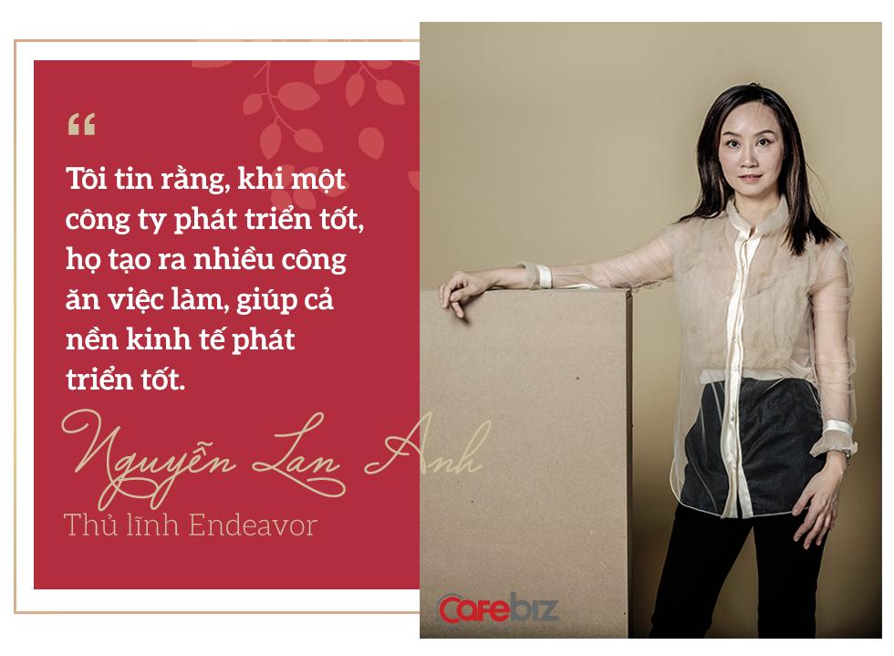 """Thủ lĩnh Forbes Việt Nam Nguyễn Lan Anh và hành trình đến với """"chiến đạo"""" Endeavor - Ảnh 3."""