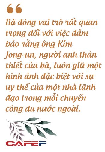 Người phụ nữ bí ẩn luôn theo sát Chủ tịch Kim Jong Un: Giản dị, kín tiếng nhưng được tin tưởng hơn bất kỳ ai - Ảnh 4.