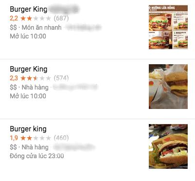 Cùng số phận với Aroma, Burger King nhận bão 1 sao từ dân mạng Việt sau khi bị tố phân biệt chủng tộc - Ảnh 2.