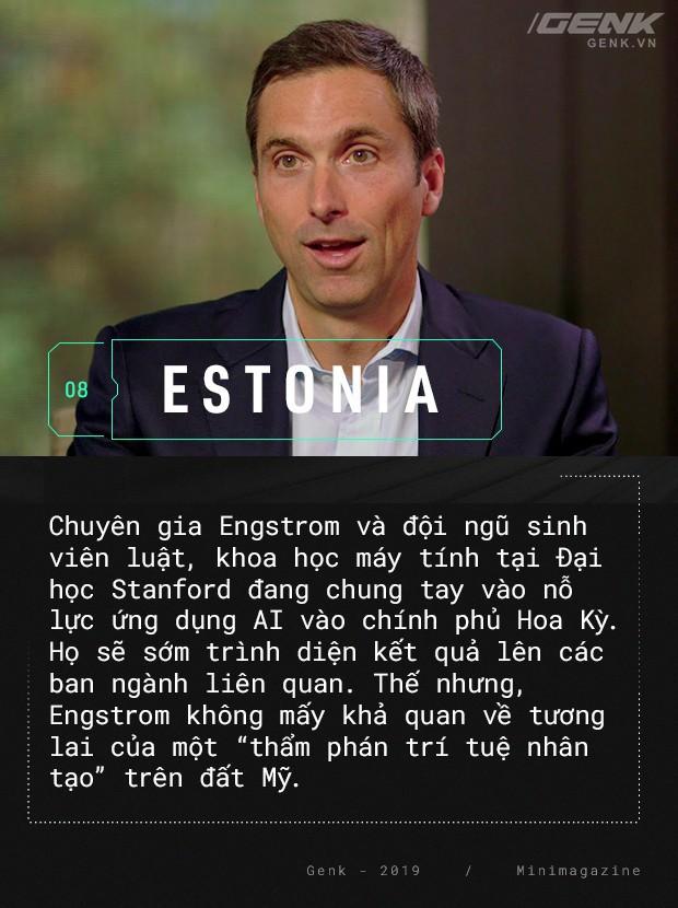 Chào mừng bạn đến với Estonia - nơi quan tòa không phải là con người - Ảnh 14.