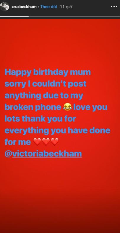 Gia đình quyền lực đáng ghen tị nhất: Beckham, dàn quý tử và Harper đều làm điều đặc biệt nhân dịp sinh nhật Victoria - Ảnh 4.