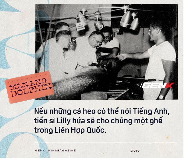 Đọc cuối tuần: Năm 1965, một cô gái dạy cá heo nói Tiếng Anh, cuối cùng con cá đã yêu cô ấy điên cuồng - Ảnh 6.