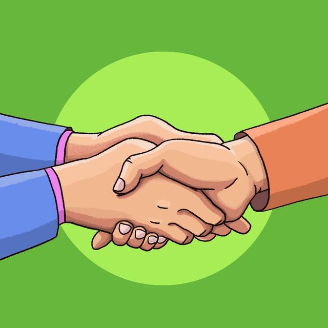 Đọc vị tính cách - photo 1 15559284692531495559466 - Đọc vị tính cách người đối diện qua 6 kiểu bắt tay: Những quy tắc ngầm trong nghệ thuật giao tiếp