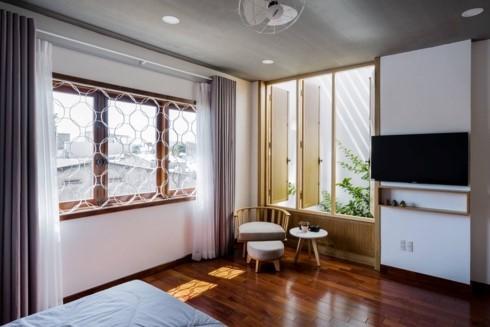 Ngôi nhà mang phong cách nhiệt đới giữa lòng Đà Nẵng - Ảnh 8.