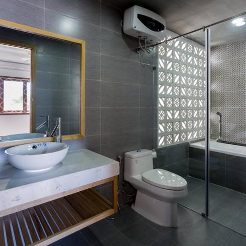 Ngôi nhà mang phong cách nhiệt đới giữa lòng Đà Nẵng - Ảnh 10.