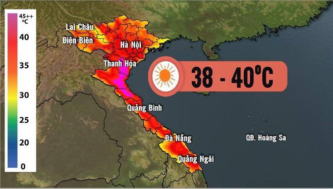 Báo Mỹ xác nhận Việt Nam vừa đạt mốc nhiệt độ kỷ lục, mới tháng Tư mà đã nóng 43 độ C - Ảnh 1.
