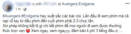 Khán giả Việt xúc động sững sờ, phấn khích tột độ sau suất chiếu ENDGAME đầu tiên - Ảnh 12.