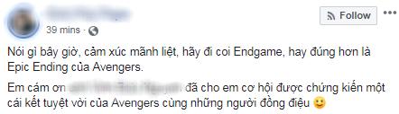 Khán giả Việt xúc động sững sờ, phấn khích tột độ sau suất chiếu ENDGAME đầu tiên - Ảnh 4.