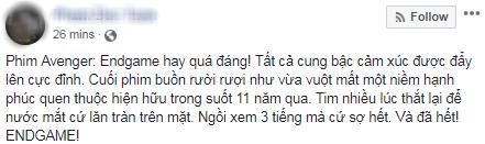 Khán giả Việt xúc động sững sờ, phấn khích tột độ sau suất chiếu ENDGAME đầu tiên - Ảnh 5.