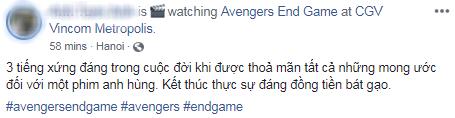 Khán giả Việt xúc động sững sờ, phấn khích tột độ sau suất chiếu ENDGAME đầu tiên - Ảnh 10.