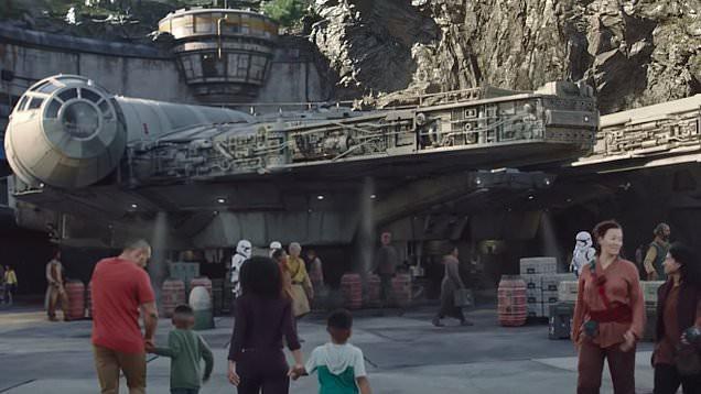 Toàn cảnh công viên Disney tỷ đô phong cách Chiến tranh giữa các vì sao trước ngày mở cửa chính thức - Ảnh 14.