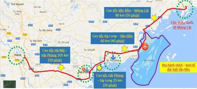Khởi công cao tốc 11 nghìn tỷ nối Vân Đồn với Móng Cái, thời gian xây dựng trong 2 năm - Ảnh 1.
