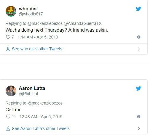 Hàng loạt đàn ông đổ xô vào Twitter vợ cũ CEO Amazon buông lời chọc ghẹo - Ảnh 1.