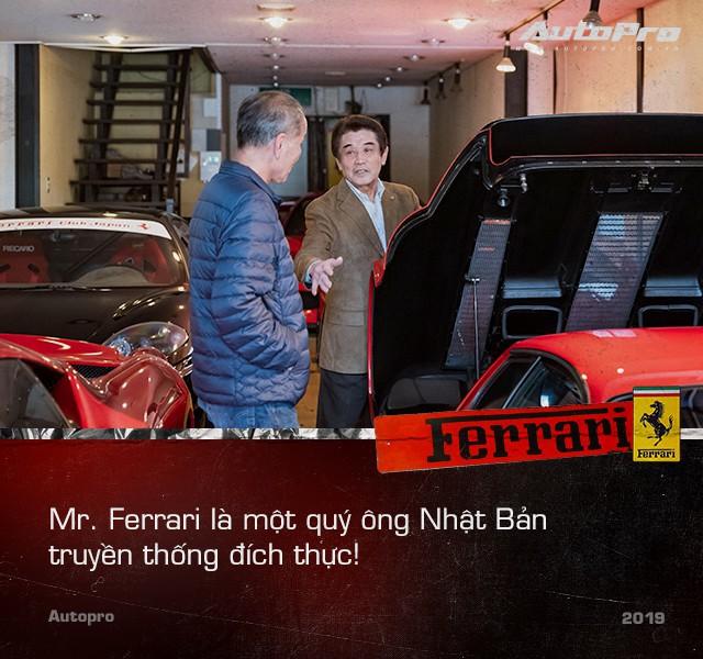 Mr. Ferrari - Từ tay chơi siêu xe tới cha đỡ đầu của 'ngựa chồm' tại Nhật Bản - Ảnh 2.