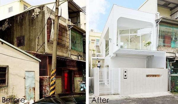 Ngôi nhà xập xệ 40 năm tuổi lột xác thành không gian sống lý tưởng - Ảnh 1.