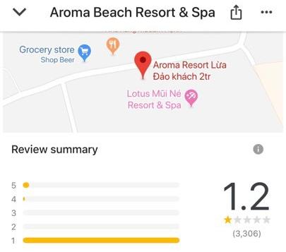 Khóa đánh giá về Aroma để đảm bảo khách quan, dân mạng quá khích vào cả App Store rate 1 sao cho ứng dụng TripAdvisor - Ảnh 1.