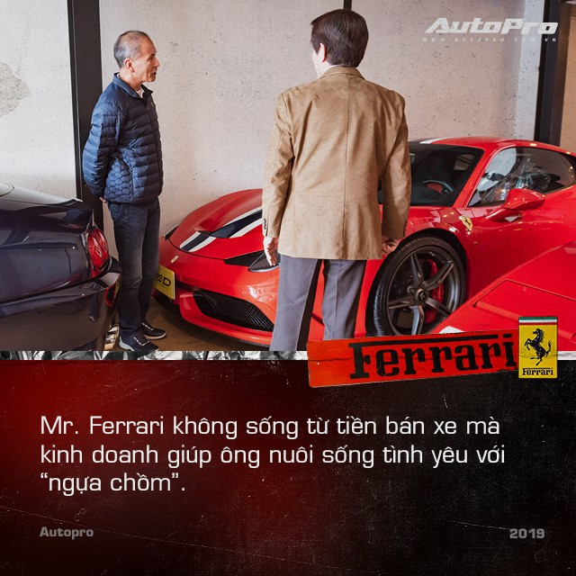 Mr. Ferrari - Từ tay chơi siêu xe tới cha đỡ đầu của 'ngựa chồm' tại Nhật Bản - Ảnh 4.
