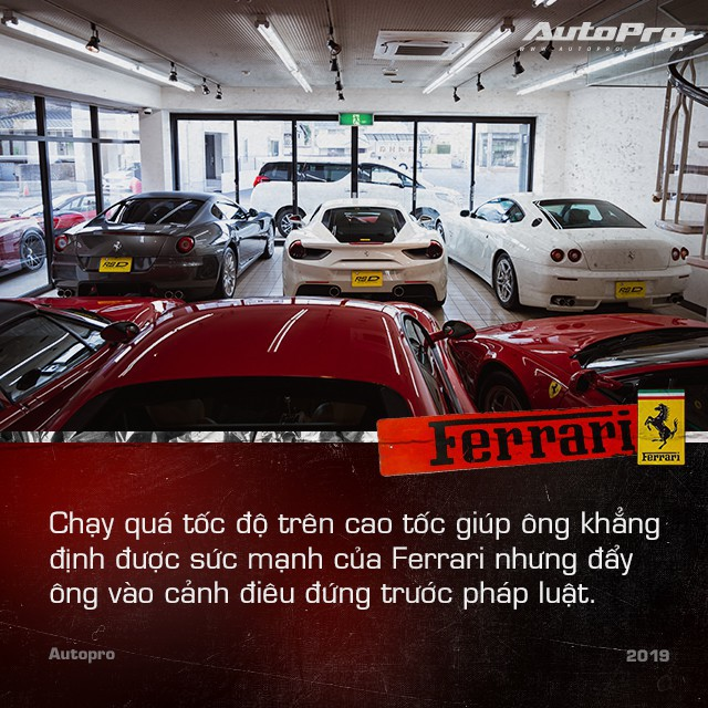 mr. ferrari - photo 6 1554778779720199151945 - Mr. Ferrari – Từ tay chơi siêu xe tới cha đỡ đầu của 'ngựa chồm' tại Nhật Bản