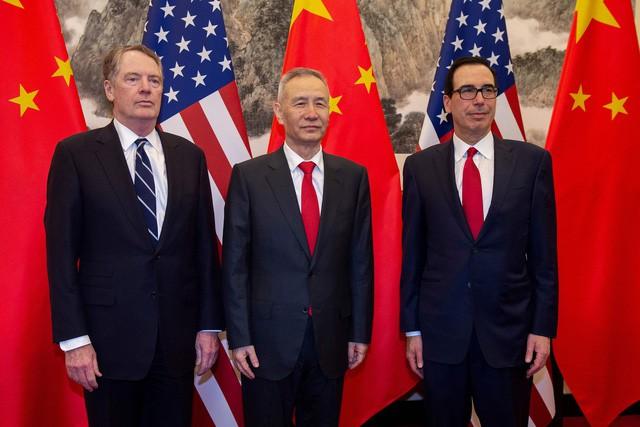 Bữa tối giữa các nhà đàm phán thương mại Mỹ - Trung và quả tạ thuế quan lủng lẳng trên đầu - Ảnh 2.