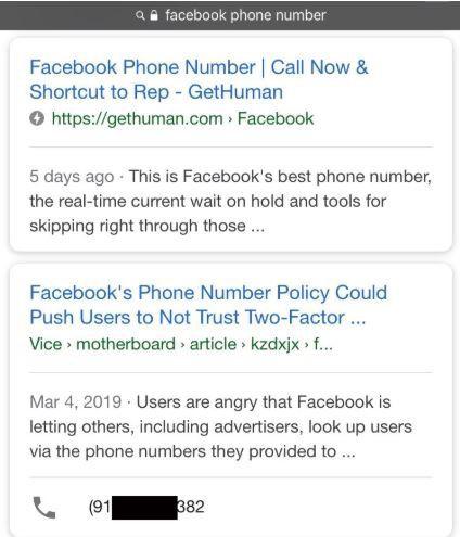 Google nghĩ số điện thoại của tôi là tổng đài hỗ trợ của Facebook - Bi kịch đời tôi bắt đầu - Ảnh 1.