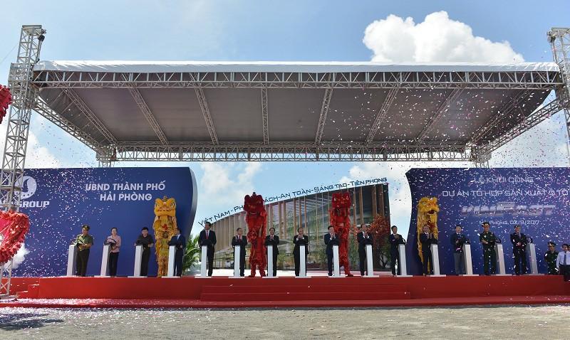 - a2 1557817155653290888197 - Hành trình thần tốc của VinFast: Ra mắt hàng loạt mẫu xe trong chưa đầy 2 năm, sắp chính thức khánh thành nhà máy sản xuất ô tô
