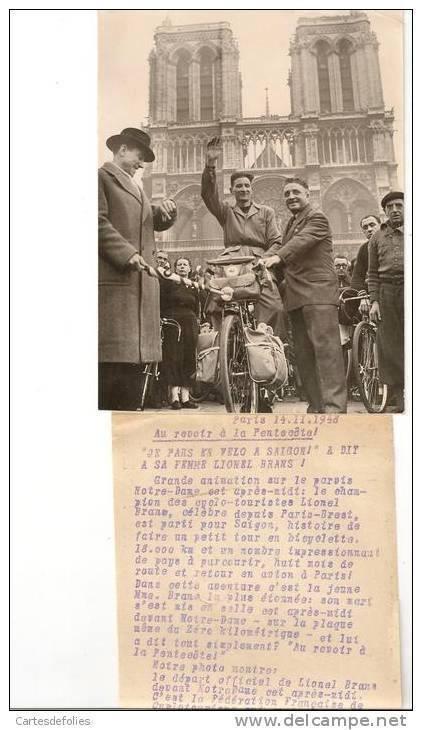 Câu chuyện về Lionel Brans - người đàn ông đầu tiên đạp xe từ Pháp đến Sài Gòn: Gặp thổ phỉ, sói hoang là chuyện thường, ăn uống kham khổ nhưng vượt lên tất cả vì lòng ái quốc - Ảnh 2.