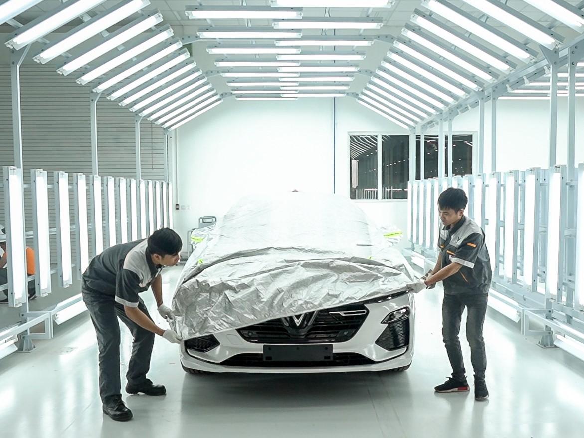 vinfast - vf 13 15579628714492126600893 - Hé lộ hình ảnh bên trong nhà máy sản xuất ô tô sắp khánh thành của VinFast
