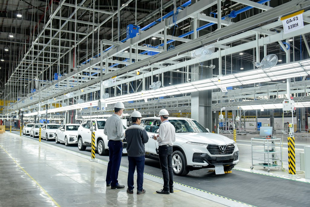 vinfast - vf 6539 15579628714491747071275 - Hé lộ hình ảnh bên trong nhà máy sản xuất ô tô sắp khánh thành của VinFast
