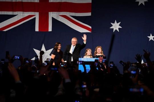 """Bầu cử Úc: Chiến thắng """"kỳ diệu"""" của Thủ tướng Morrison - Ảnh 1."""
