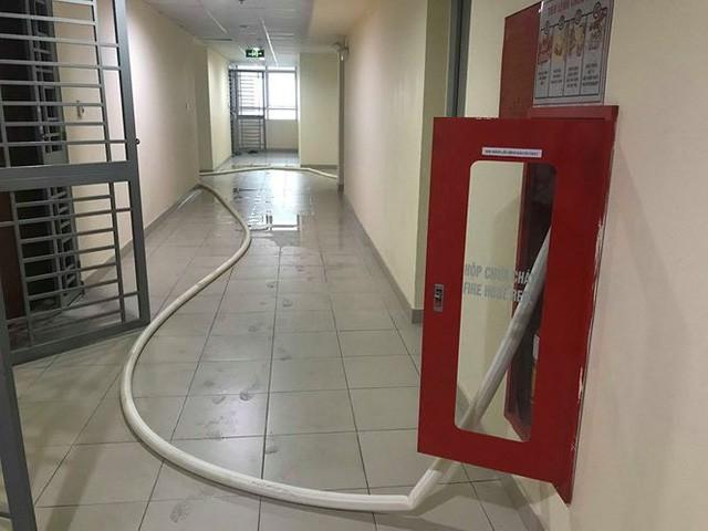 Chung cư cao cấp chằng chịt vòi cứu hỏa để 'giải khát' nước sạch - Ảnh 4.