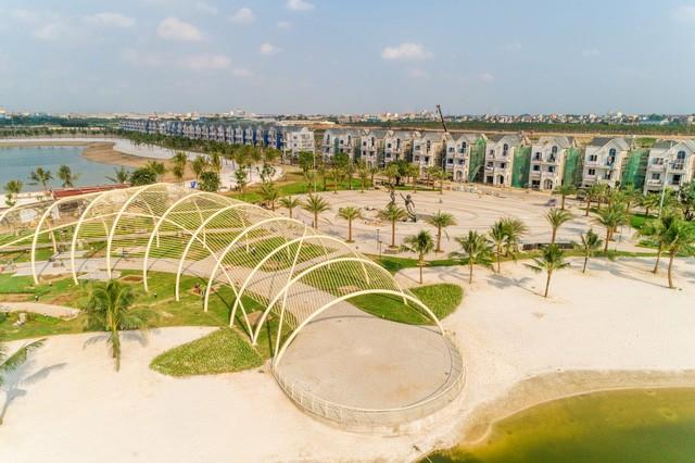 Cận cảnh tiến độ đại đô thị Vinhomes Ocean Park Gia Lâm, siêu dự án lớn nhất từ trước đến nay của Vingroup tại Hà Nội  - Ảnh 13.