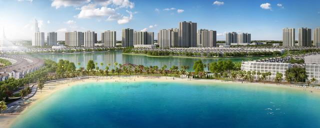 Cận cảnh tiến độ đại đô thị Vinhomes Ocean Park Gia Lâm, siêu dự án lớn nhất từ trước đến nay của Vingroup tại Hà Nội  - Ảnh 3.