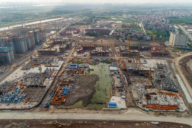 Cận cảnh tiến độ đại đô thị Vinhomes Ocean Park Gia Lâm, siêu dự án lớn nhất từ trước đến nay của Vingroup tại Hà Nội  - Ảnh 8.