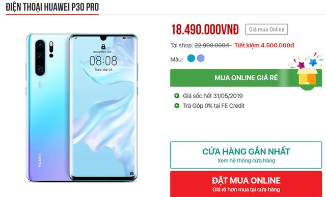 Cơn bão giảm giá quét qua, điện thoại Huawei tiếp tục lao dốc không phanh - Ảnh 2.