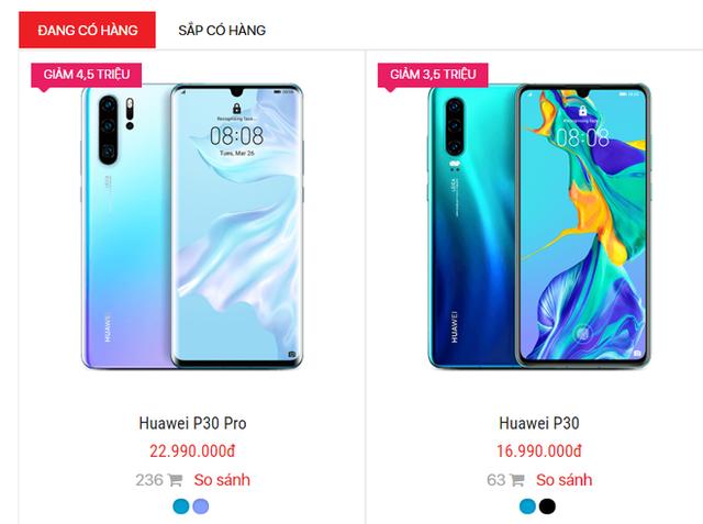 Cơn bão giảm giá quét qua, điện thoại Huawei tiếp tục lao dốc không phanh - Ảnh 1.