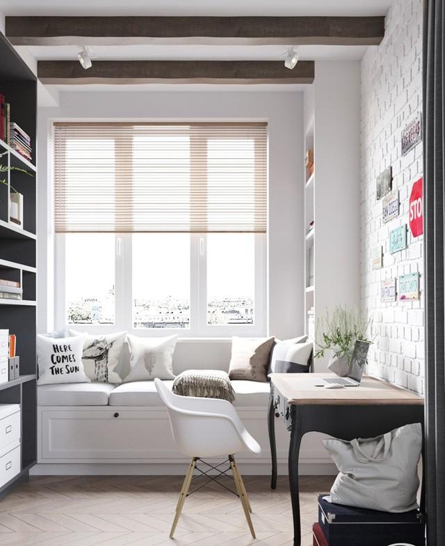 Căn hộ có 3 phòng ngủ rộng rãi nhờ cách sắp xếp nội thất - Ảnh 3.