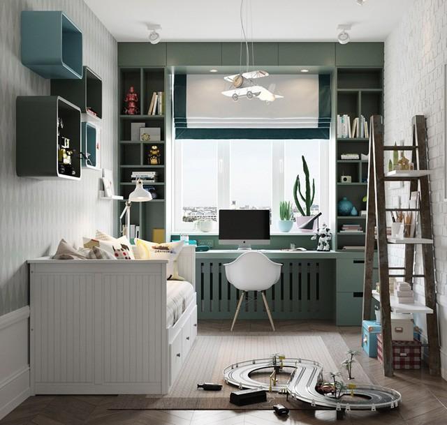Căn hộ có 3 phòng ngủ rộng rãi nhờ cách sắp xếp nội thất - Ảnh 7.