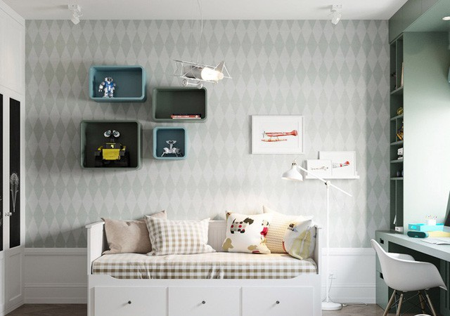 Căn hộ có 3 phòng ngủ rộng rãi nhờ cách sắp xếp nội thất - Ảnh 8.