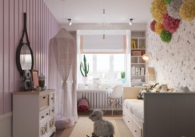 Căn hộ có 3 phòng ngủ rộng rãi nhờ cách sắp xếp nội thất - Ảnh 10.