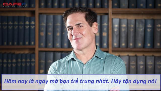 Lời khuyên tỷ phú Shark Tank Mỹ Mark Cuban coi trọng nhất cuộc đời: Đừng để suy nghĩ về tuổi tác khiến bạn bỏ lỡ những cơ hội chỉ đến một lần  - Ảnh 1.