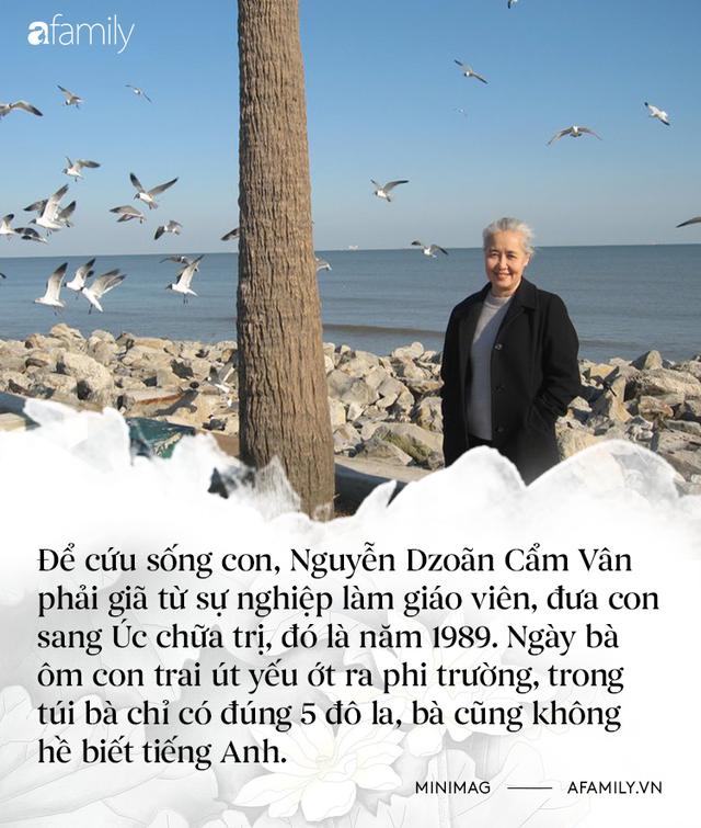 Nguyễn Dzoãn Cẩm Vân - Qua bao truân chuyên để thành Huyền thoại của gian bếp Việt, cuối cùng vì chữ An mà buông bỏ tất cả  - Ảnh 3.