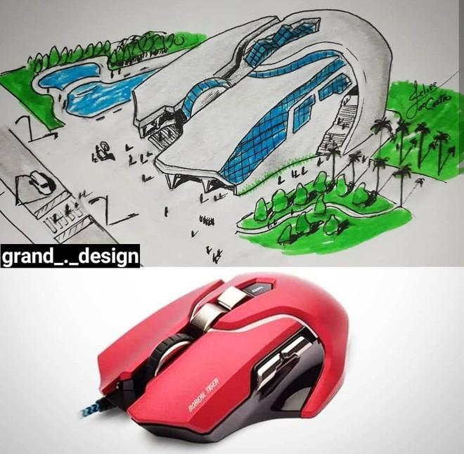 felipe - 3 1558941864798217796116 - KTS biến những đồ vật quen thuộc thành công trình kiến trúc với thiết kế không tưởng