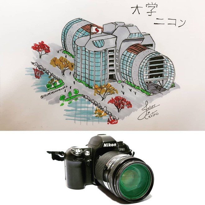felipe - photo 6 1558941736802295999233 - KTS biến những đồ vật quen thuộc thành công trình kiến trúc với thiết kế không tưởng