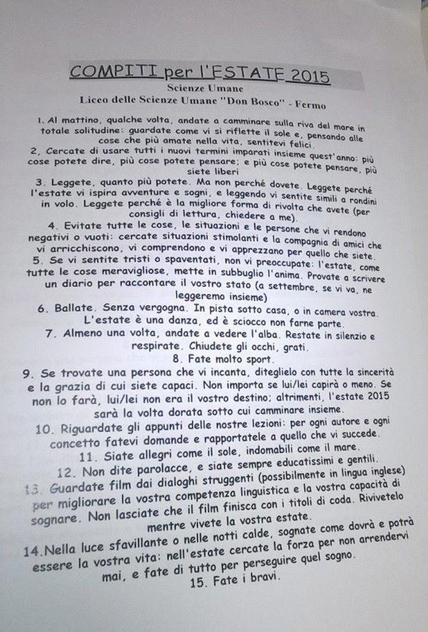 4 năm trước thầy Đỗ Đức Anh, từng có 1 thầy giáo người Ý làm rung chuyển MXH thế giới với 15 bài tập hè độc đáo, phá vỡ truyền thống giáo dục - Ảnh 2.