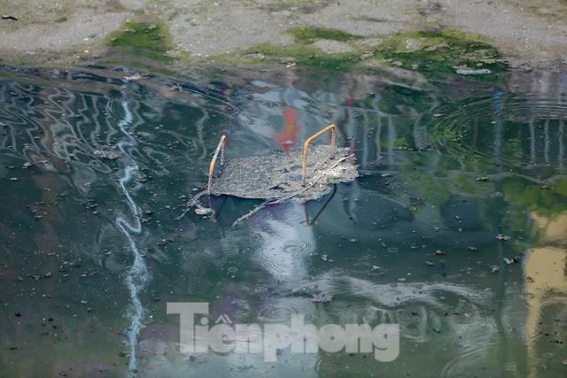 Nước sông Tô Lịch ra sao sau 10 ngày thí điểm bảo bối của Nhật?  - Ảnh 3.