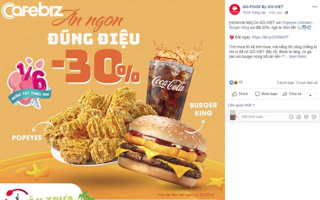 Sau lùm xùm với tài xế Go-Viet, Burger King rủ Pizza Company bay màu đồng loạt trên Go-Food - Ảnh 1.