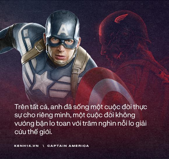 Dù là Captain America hay chỉ là một Steve Rogers, anh đã sống như một người đàn ông chân chính! - Ảnh 1.