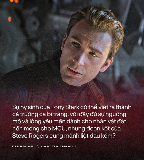 Dù là Captain America hay chỉ là một Steve Rogers, anh đã sống như một người đàn ông chân chính! - Ảnh 15.